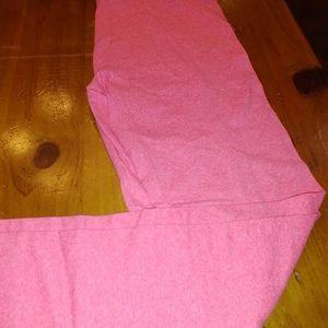 LLR. Heathered Pink Leggings